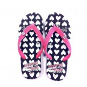 Monster High - Chanclas Corazones y Calaveras - Talla 28