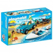 Playmobil - Pick Up con Lancha - 6864